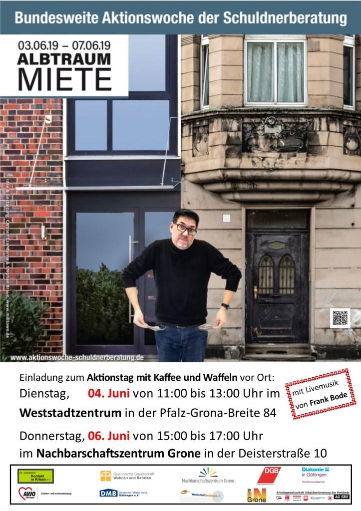 Aktionstag Plakat mit Rand