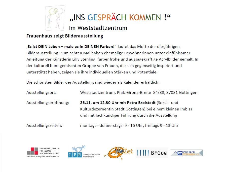 Frauenhaus_Bilderaustellung_Aushang