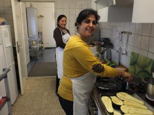 Juwan und Sherin kochen